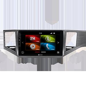 10-Zoll Navigationsgerät DX-V-135S Flex für VW Golf Sportsvan 2014-2020