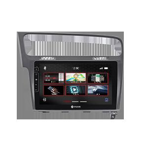 10-inch navigation system DX-V-3S Pro for VW Golf 7
