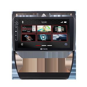 9-Zoll Navigationsgerät DIX-AU-A6 Pro für Audi A6 1997-2005
