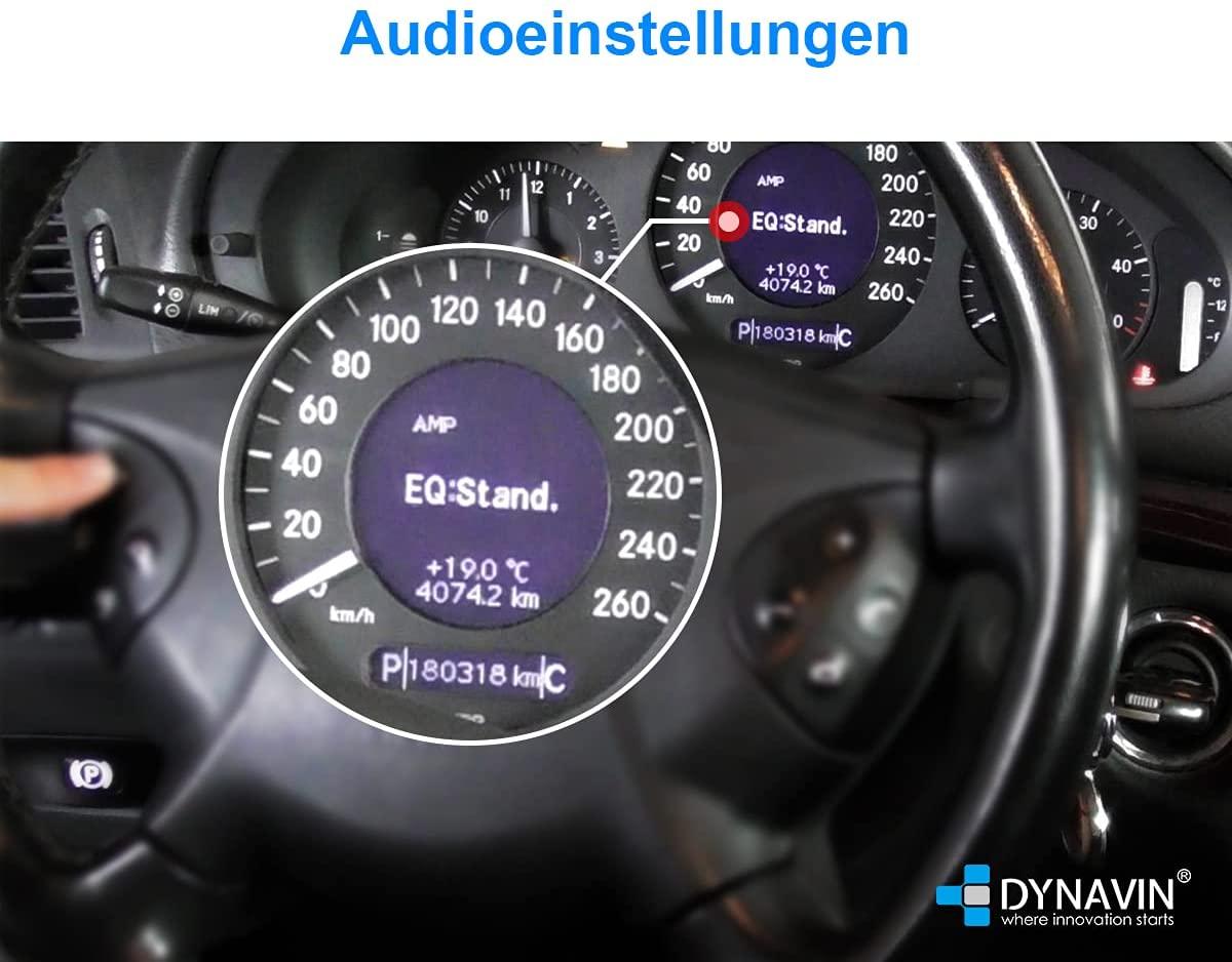 DVN-MOAGW-CAN Audioeinstellungen