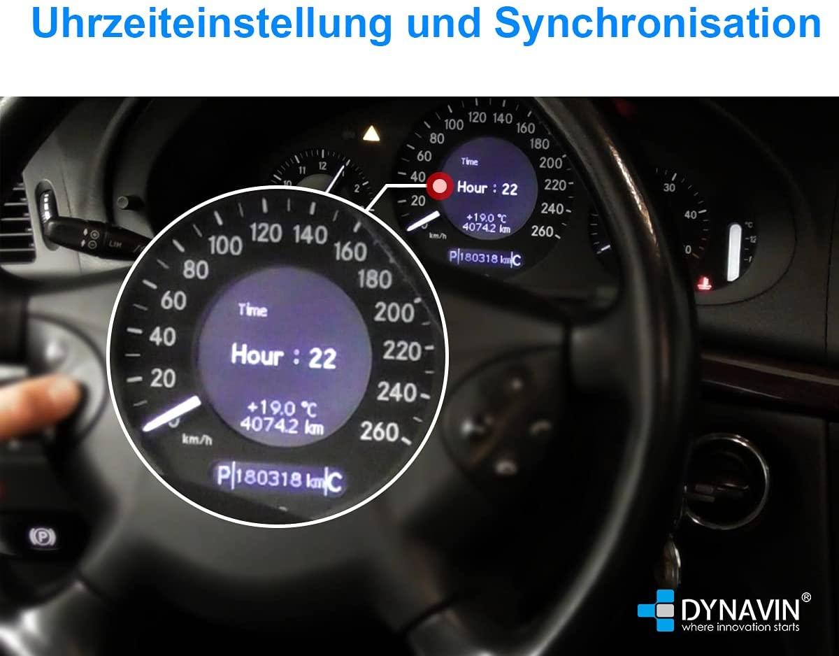 DVN-MOPC14-CAN Uhrzeiteinstellungen und Synchronisation
