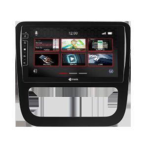9-inch navigation system DIX-V-6 Pro for VW Scirocco