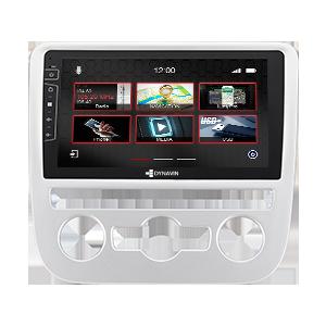 9-Zoll Navigationsgerät DIX-V-6S Pro für VW Scirocco