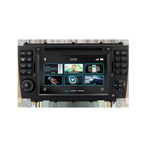 Navigationsgerät N7-MBC Pro, passend für Mercedes C-Klasse, CLC, CL / W203