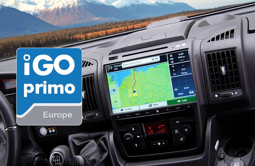Dynavin Navigationssoftware igo Primo
