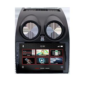 10 Zoll Navigationsgerät DX-NI-4 Pro für Nissan Qashqai 2014-2018